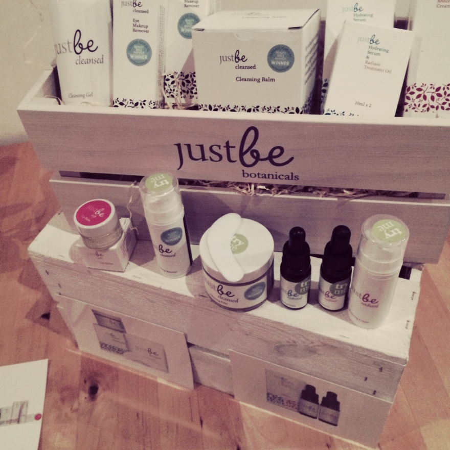 JustBe Skincare Products
