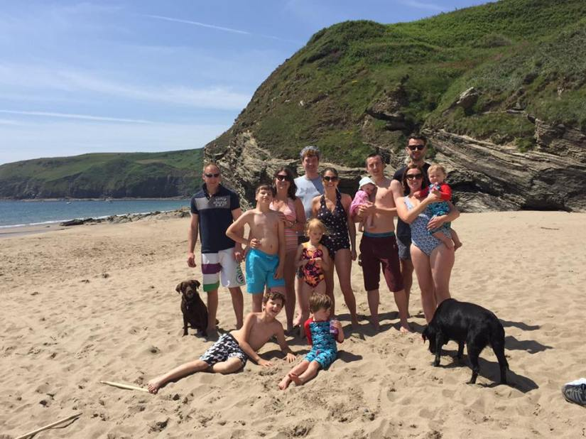 Friends at Porth Ceriad