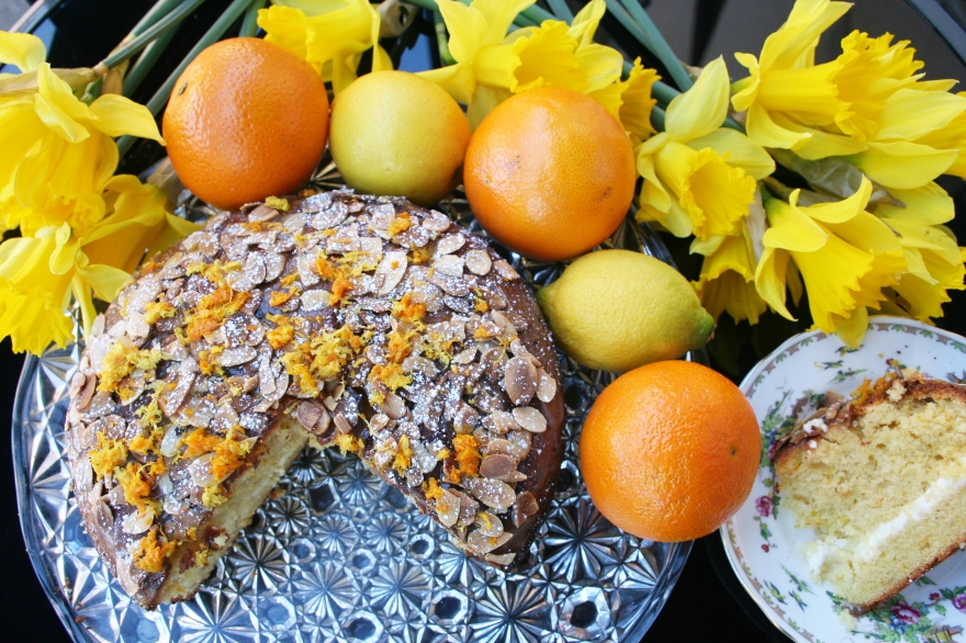 Clementine, Lemon and Almond Cake Recipe