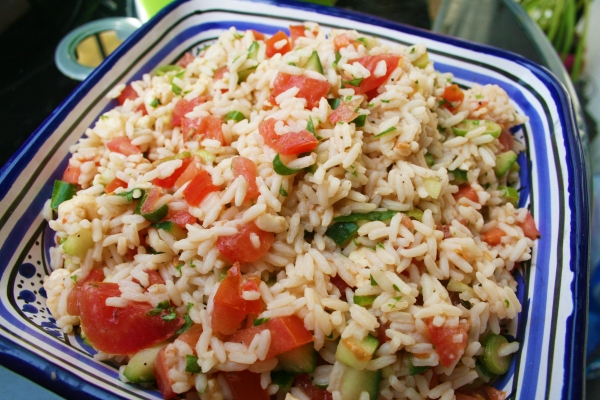 Natalie Allera Rice Salad Recipe