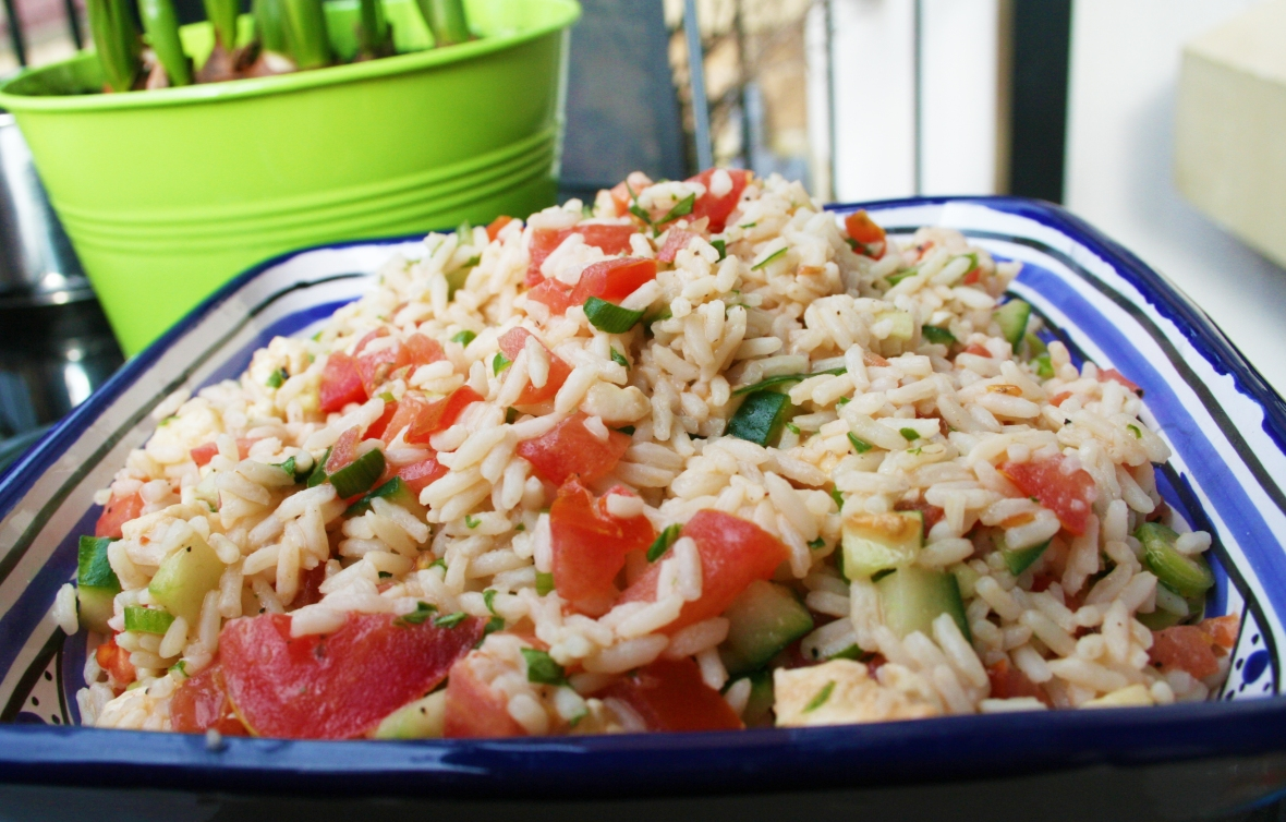 Rice Salad Recipe by Natalie Allera Harris